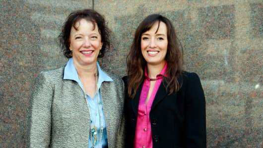MJ Freeway CEO Amy Poinsett and COO Jessica Billingsley